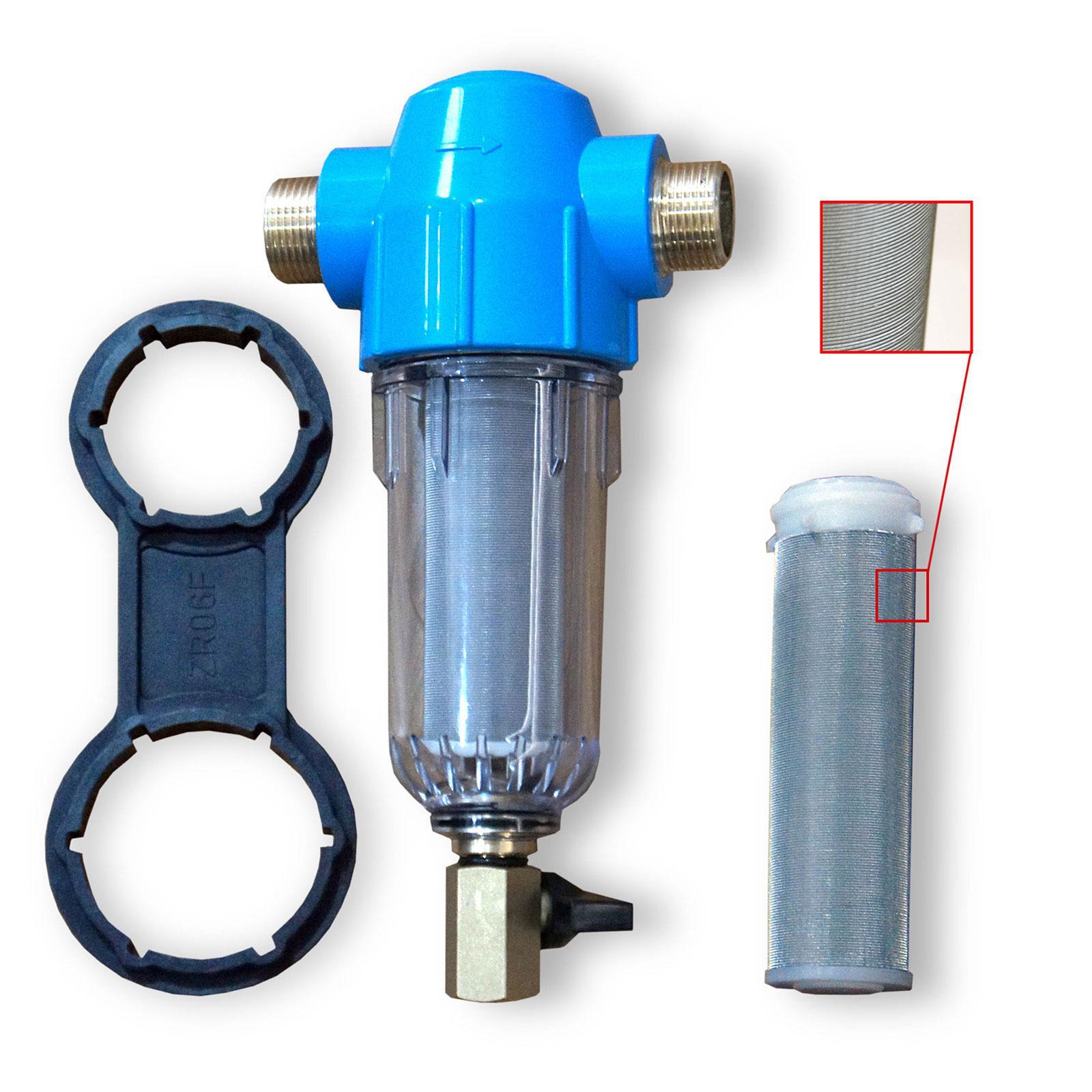 Hauswasserfilter Rückspülfilter, Sandfilter/Sedimentfilter