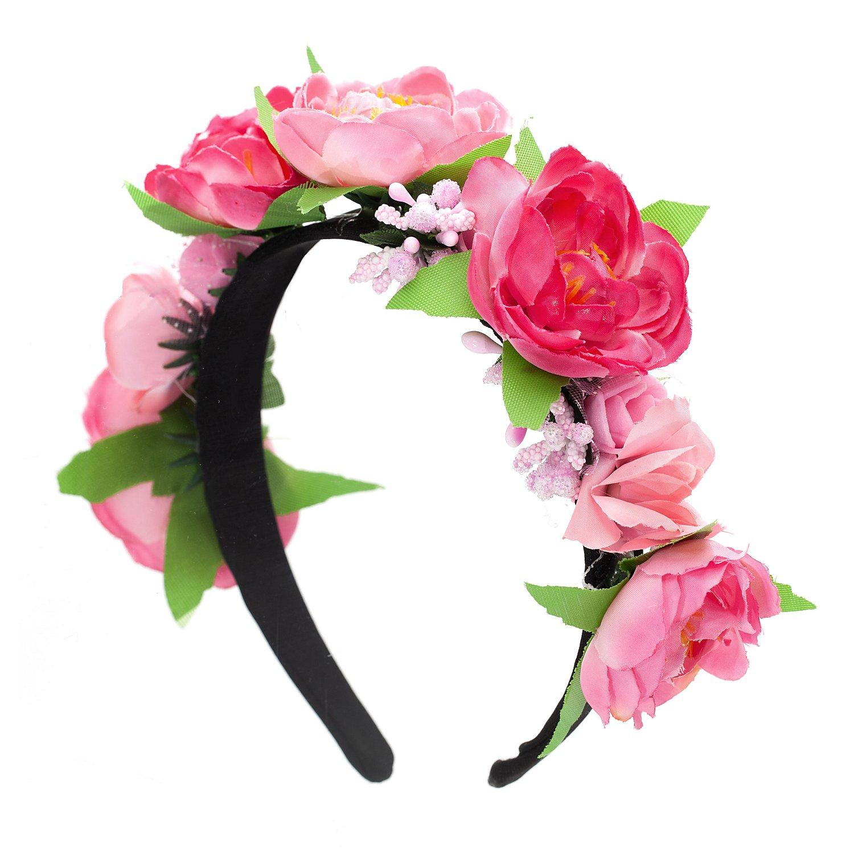 """Haarreif """"Rose"""", rosa"""