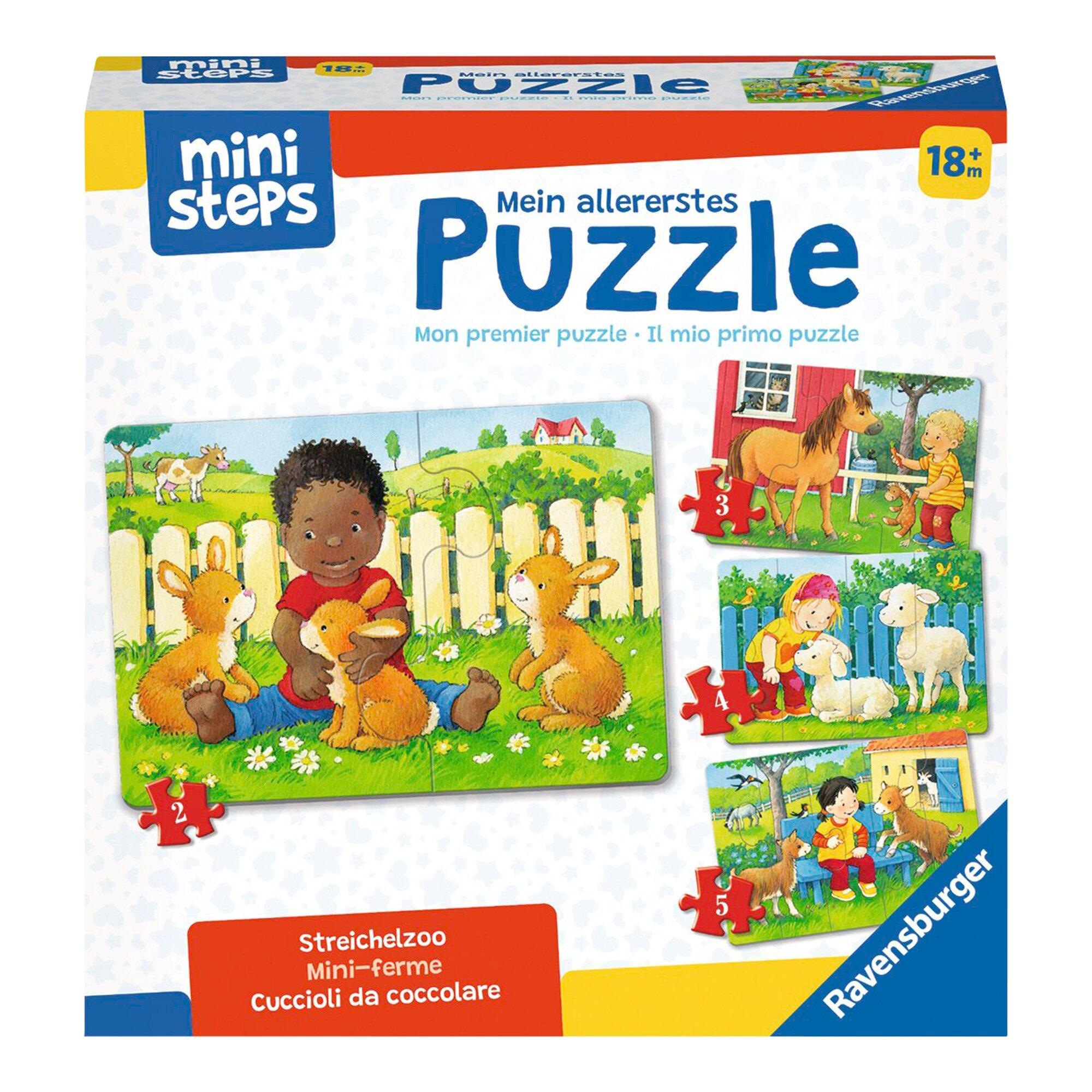 Mein allererstes Puzzle - Streichelzoo