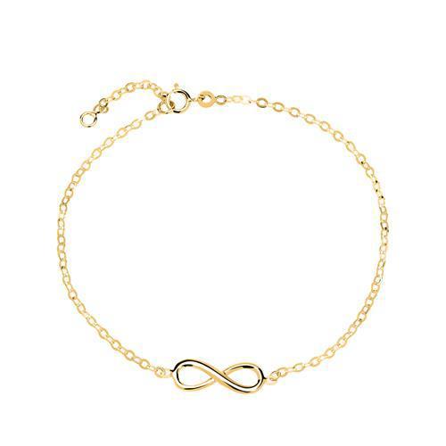 585er Gold Armband Unendlichkeitszeichen