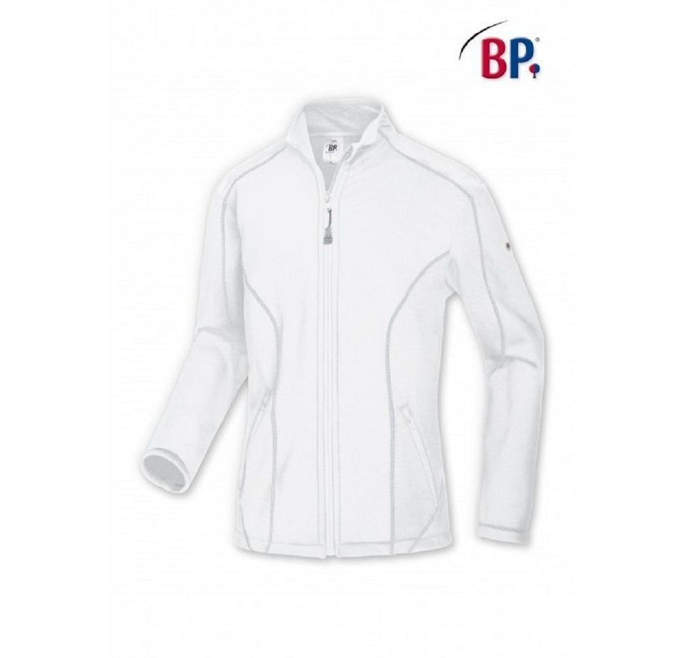 cofi1453 Arbeitsjacke »BP® Fleecejacke 1745-679-110 Herren Jacke Fleece Sweatjacke Arbeitsjacke Workwear 1745-679-21«, weiß