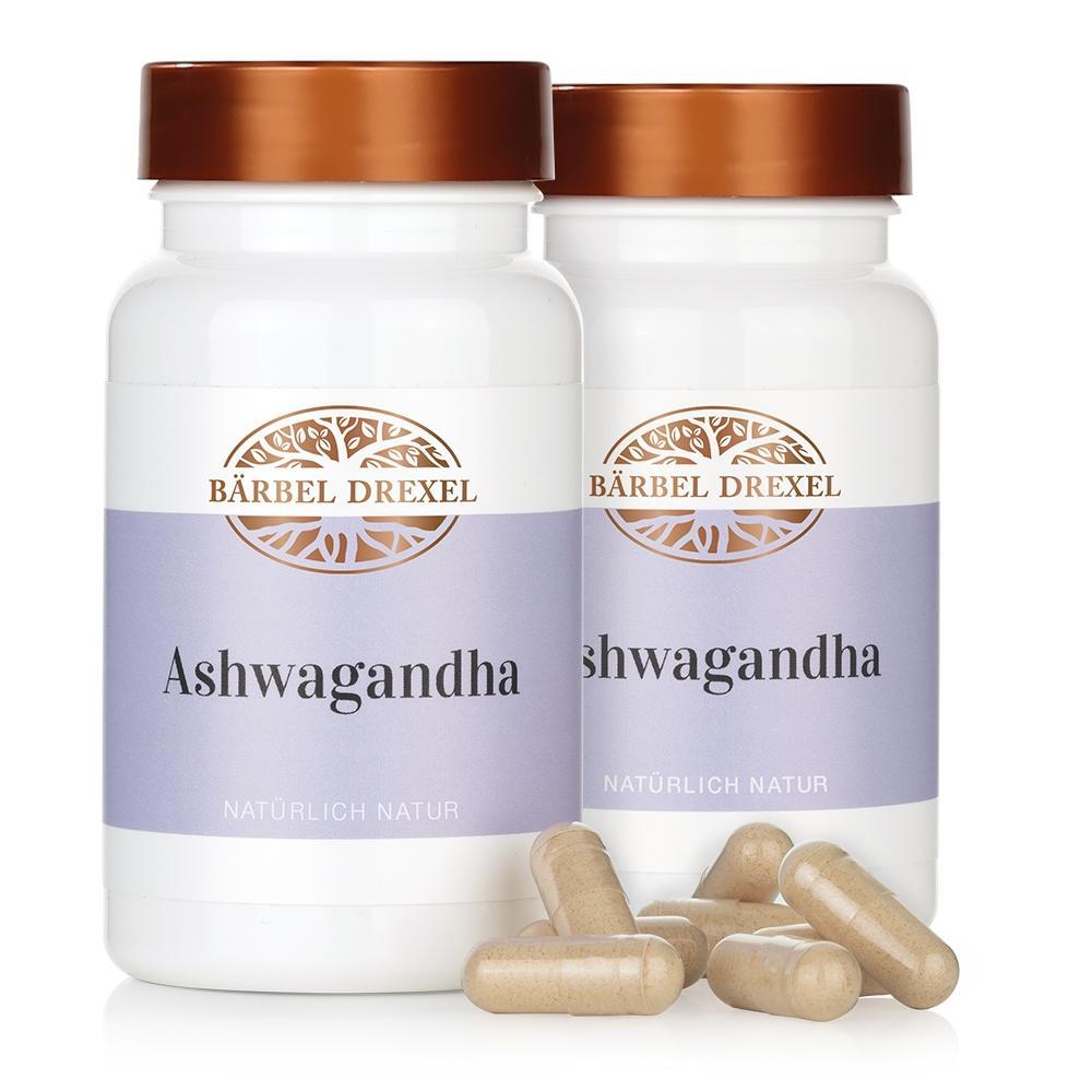 Duo Ashwagandha Kapseln, 2 x 60 Stück