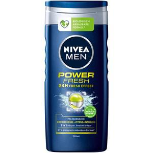 Nivea Männerpflege Körperpflege Nivea Men Power Fresh Pflegedusche 250 ml