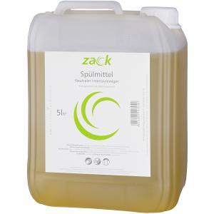 ZACK Handspülmittel Zitro, Neutraler Intensivreiniger, 5 l - Kanister