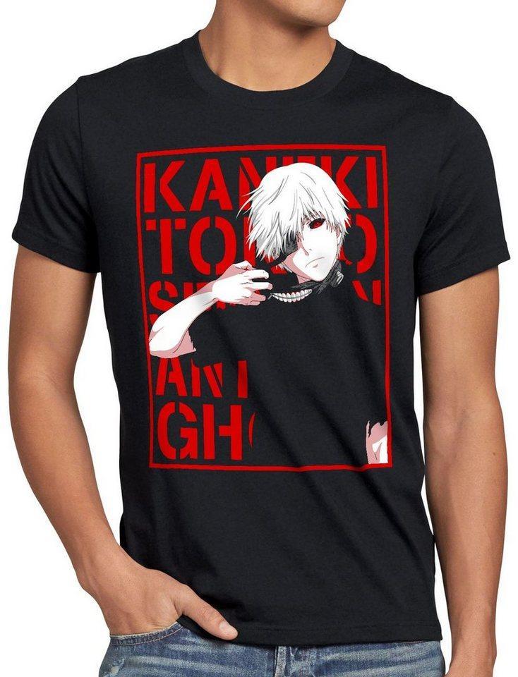 style3 Print-Shirt Herren T-Shirt Tokyo Fate ghoul kaneki anime manga