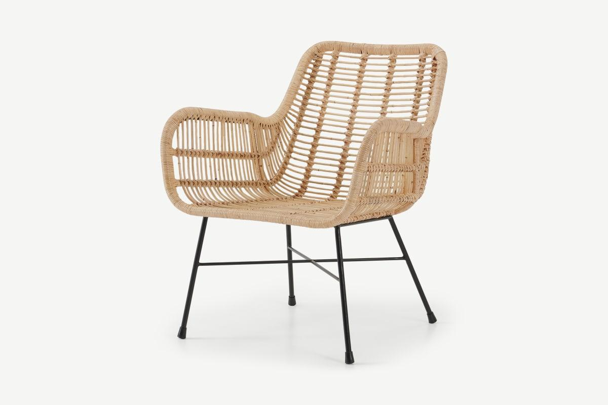 Moby Sessel, Rattan