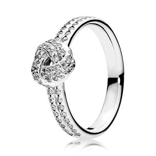 Ring Liebesknoten Silber