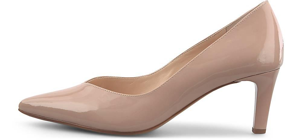 Högl, Lack-Pumps in nude, Pumps für Damen Gr. 36