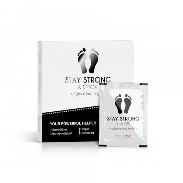 Stay Strong & Detox Fußpads / Original 2 night Detox