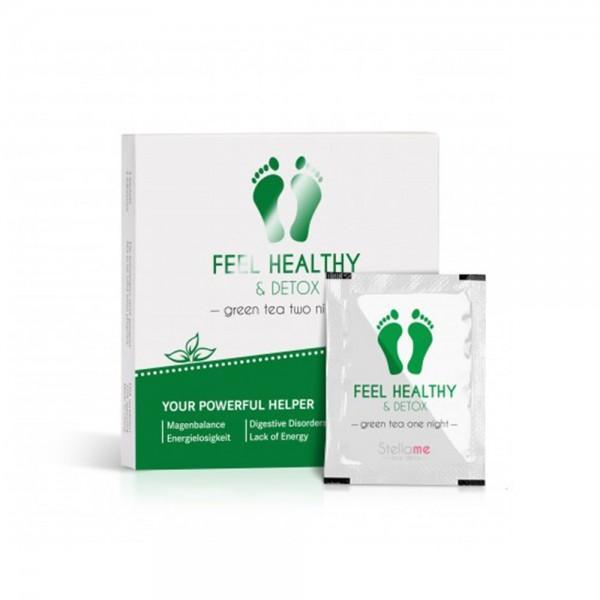 Feel Healthy & Detox Fußpads / Grüntee 2 night Detox