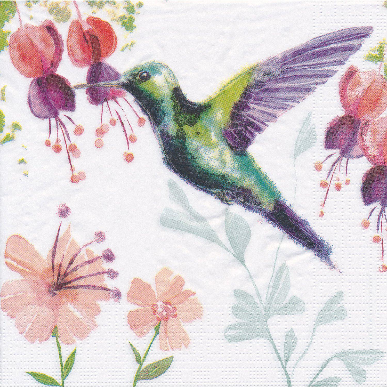 "Papierservietten ""Kolibri"", 33 x 33 cm, 20 Stück"