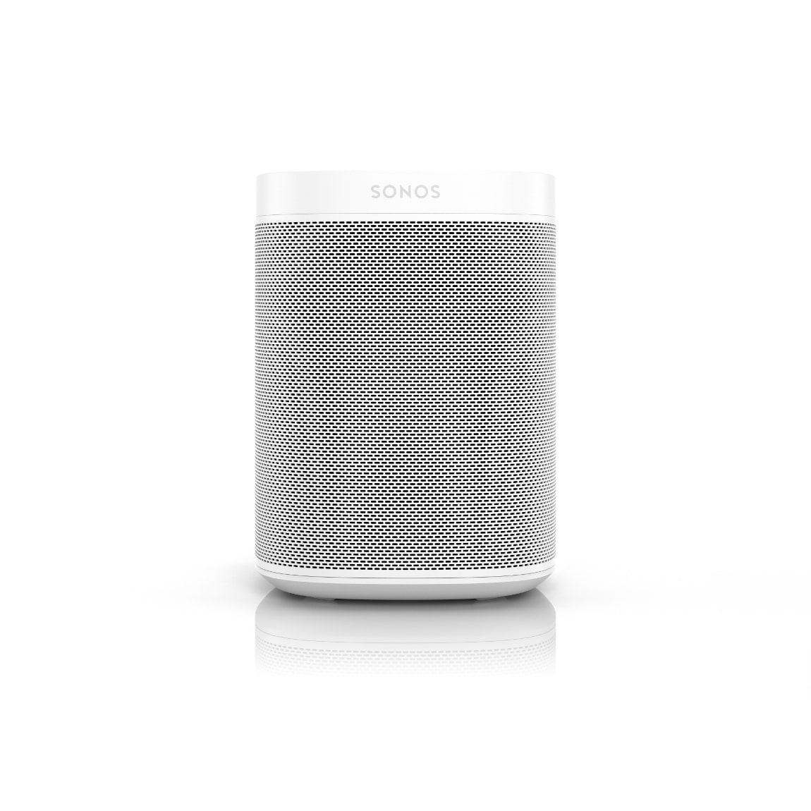 Sonos One Gen. 2 - Smart Speaker mit Sprachsteuerung - Weiß