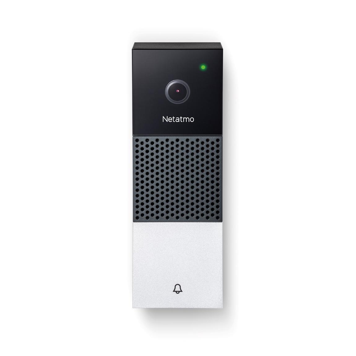 Netatmo Smarte Videotürklingel - schwarz