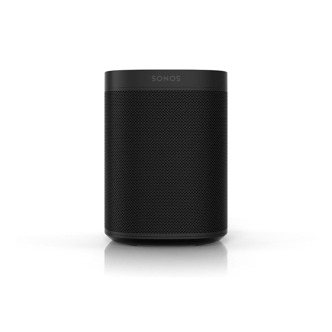 Sonos One Gen. 2 - Smart Speaker mit Sprachsteuerung - Schwarz