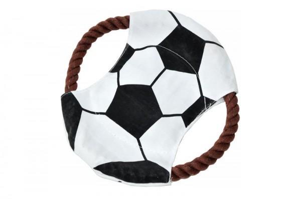 Hundespielzeug Zerrseil Frisbee 22cm Ø