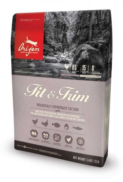 Orijen Katzenfutter Fit & Trim (getreidefrei) - 5,4 kg