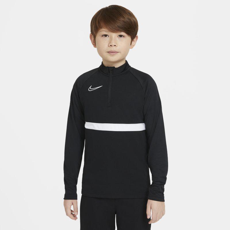 Nike Dri-FIT Academy Fußball-Trainingsoberteil für ältere Kinder - Schwarz