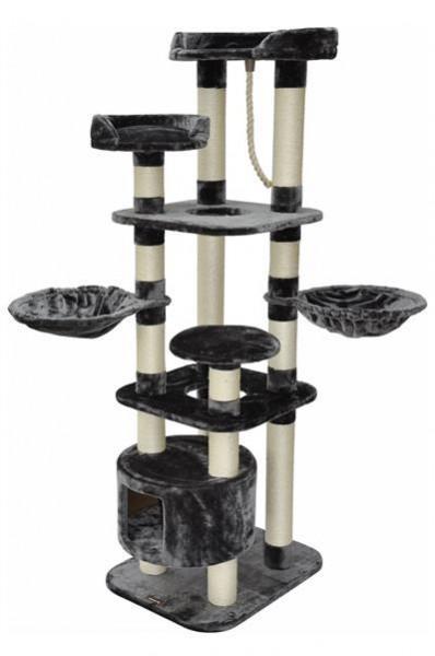 Kratzbaum Kira grau 60 x 50 x 174 cm