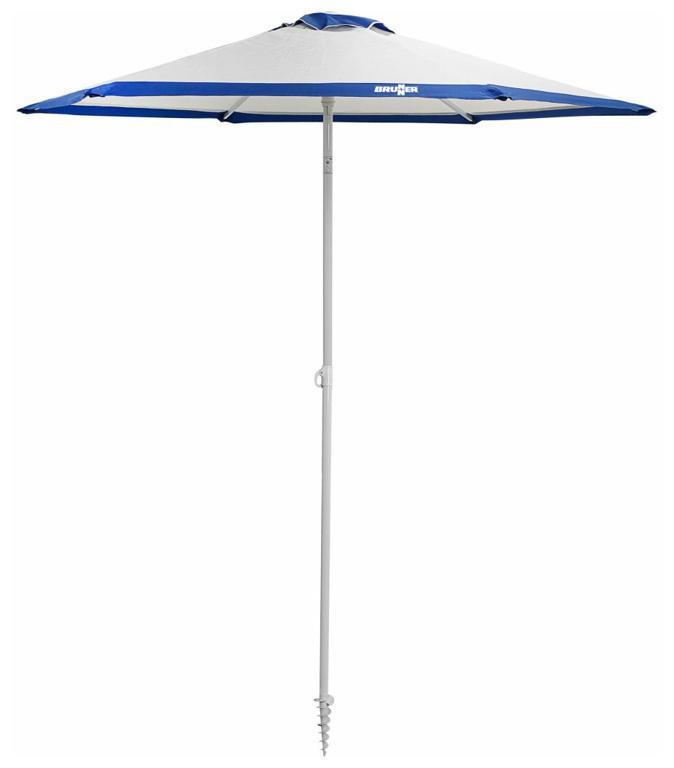Brunner Strandsonnenschirm Onda, 200 × 220 cm