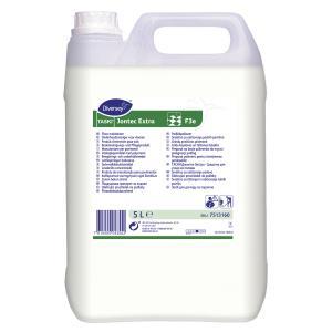 TASKI Jontec Extra Bodenreiniger & Bodenpflege, Fußbodenreiniger auf Polymerbasis für alle wasserfesten Bodenbeläge, 5 Liter - Kanister