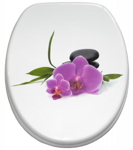 WC-Sitz Orchidee