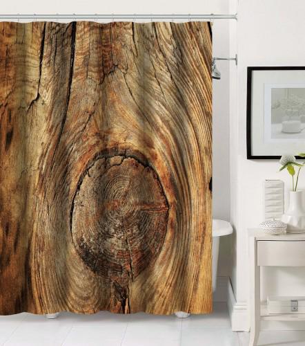 Duschvorhang Rustikal 180 x 180 cm