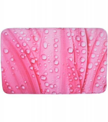 Badteppich Pink Flower 50 x 80 cm