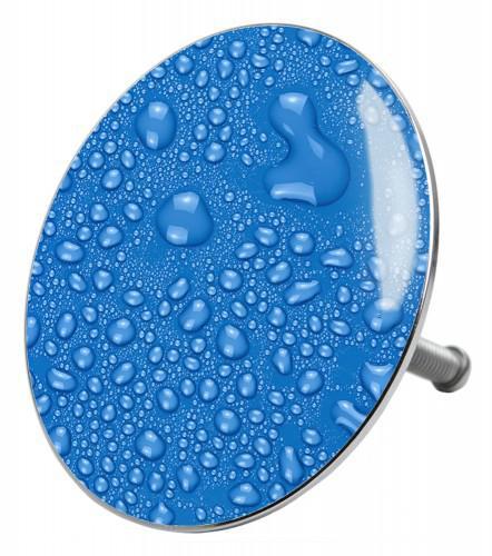 Badestöpsel Tautropfen Blau