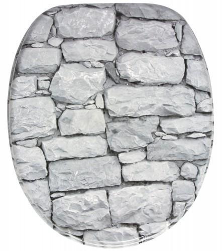 WC-Sitz mit Absenkautomatik Wall