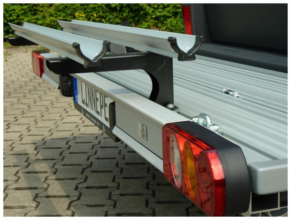 Linnepe Fahrradhalter Basic für Lastenträger SlidePort