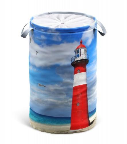 Wäschekorb Leuchtturm