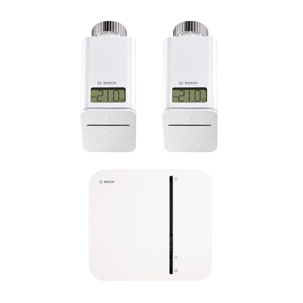 Bosch Smart Home - Starter Set Heizung mit 2 Thermostaten