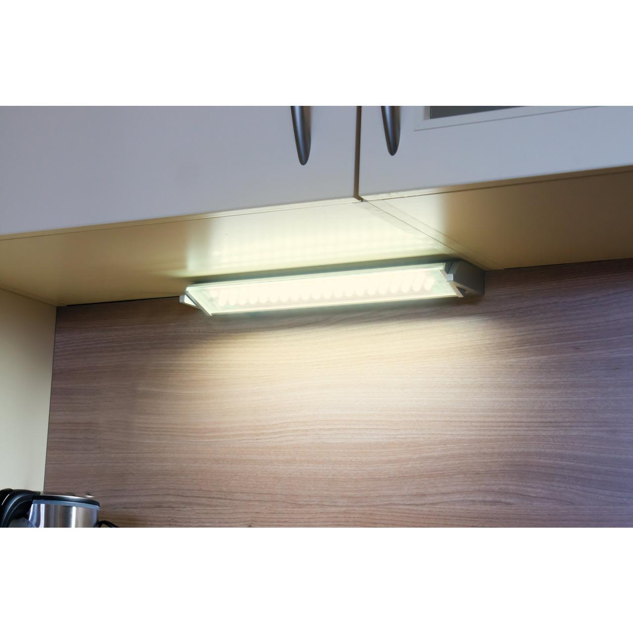 HEITRONIC Schwenkbare LED-Unterbauleuchte MIAMI, 10 W, 680 lm, warmweiß, 58 cm