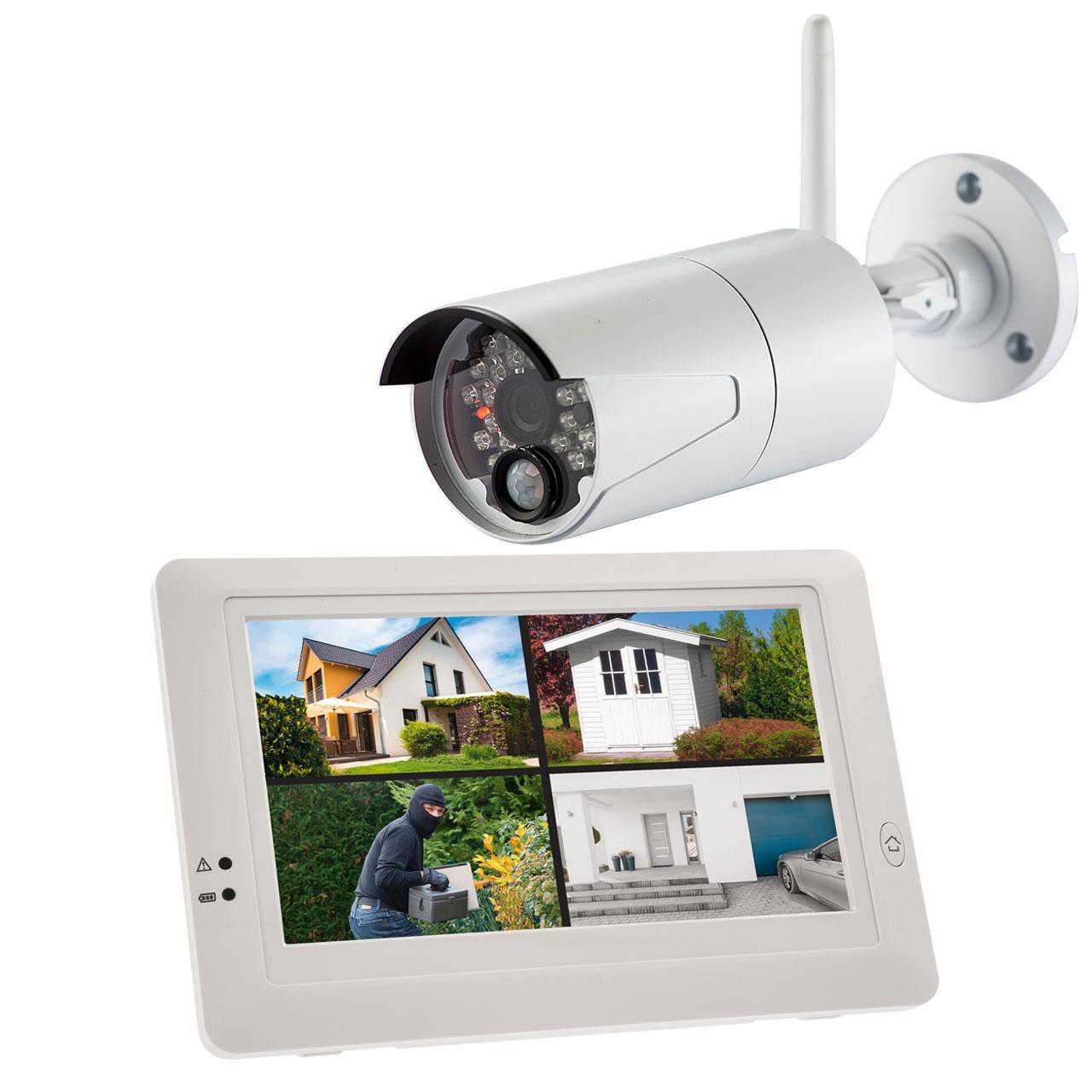 ELV Funk-Kamerasystem KS200 HD, 2,4 GHz, App (iOS & Android), HD (720p)