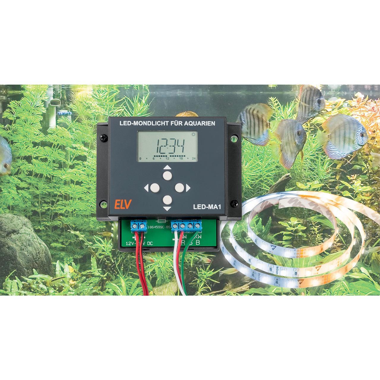 ELV Bausatz LED-Mondlicht für Aquarien LED-MA1