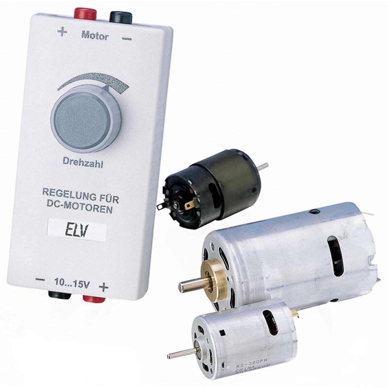 ELV Bausatz Lastunabhängige DC-Motor-Drehzahlregelung