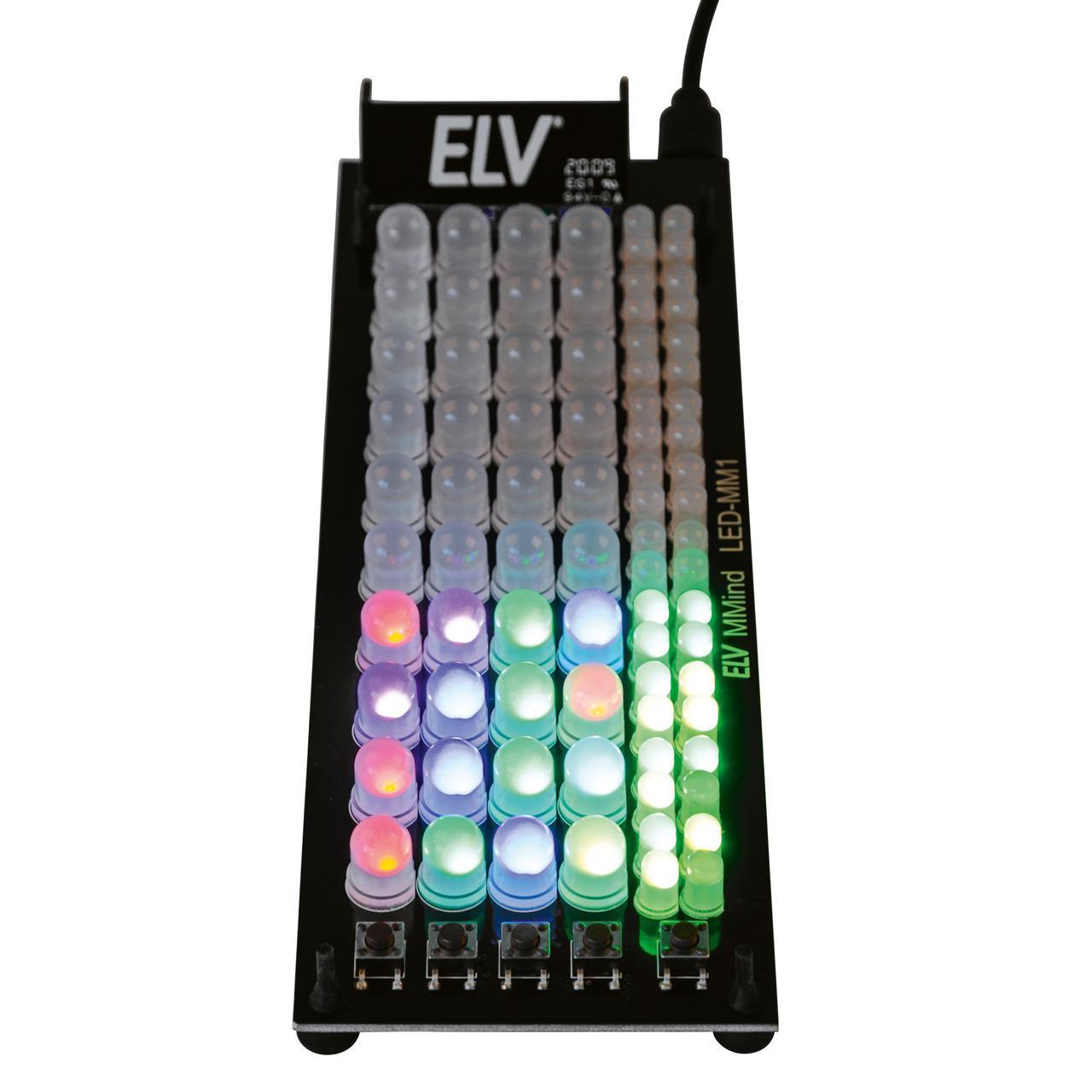 ELV Bausatz Denkspiel MMind LED-MM1