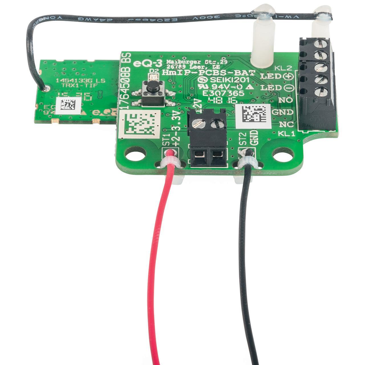 ELV Homematic IP Bausatz Schaltplatine für Batteriebetrieb HmIP-PCBS-BAT