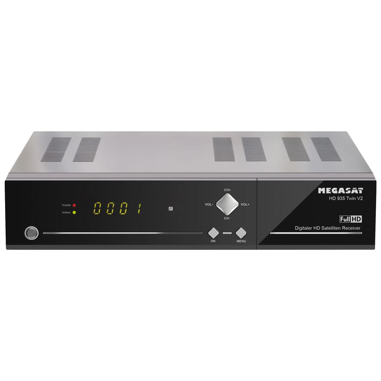 Megasat Twin-Sat-Receiver HD 935 Twin V2, mit 2,5