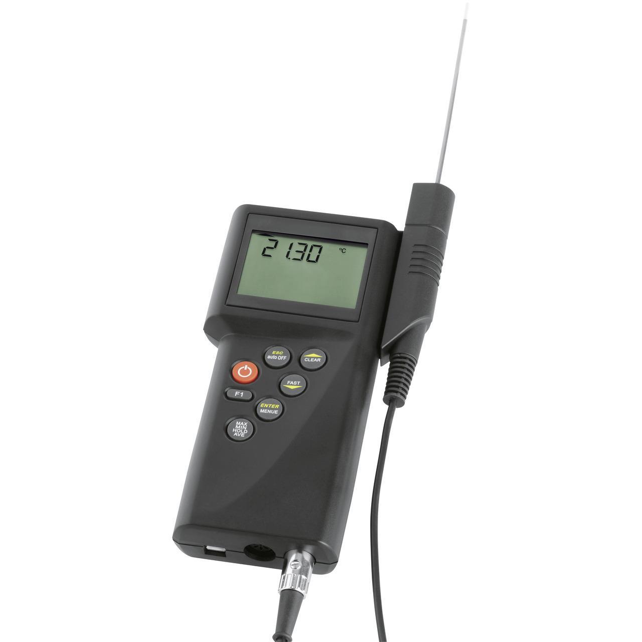 Dostmann electronic Präzisions-Handmessgeräteset P750-PT mit PT100 Sensor