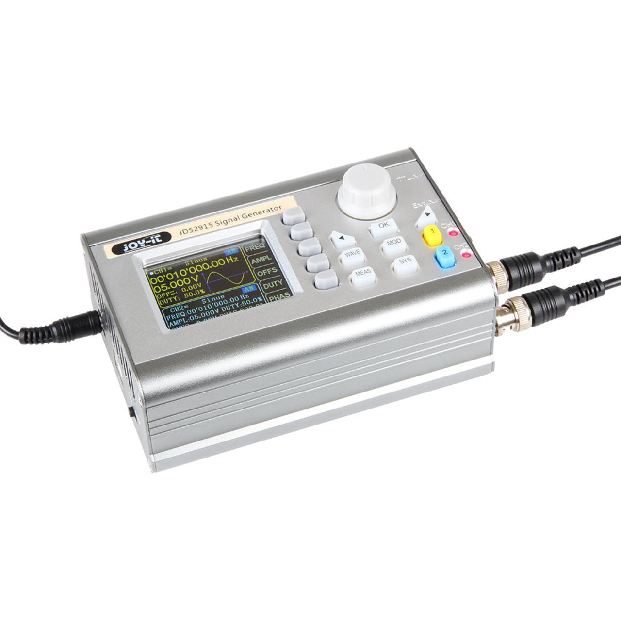 Joy-IT 2-Kanal-Signalgenerator und Frequenzzähler JT-JDS2915