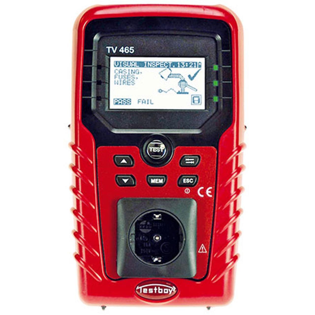 testboy VDE-Tester 0701/0702 TV 465