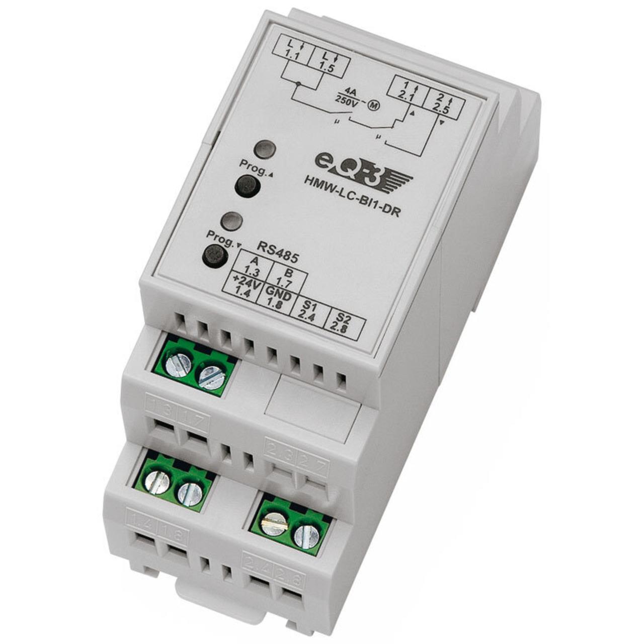Homematic Wired RS485-Rollladenaktor, 1fach HMW-LC-Bl1-DR für Smart Home / Hausautomation