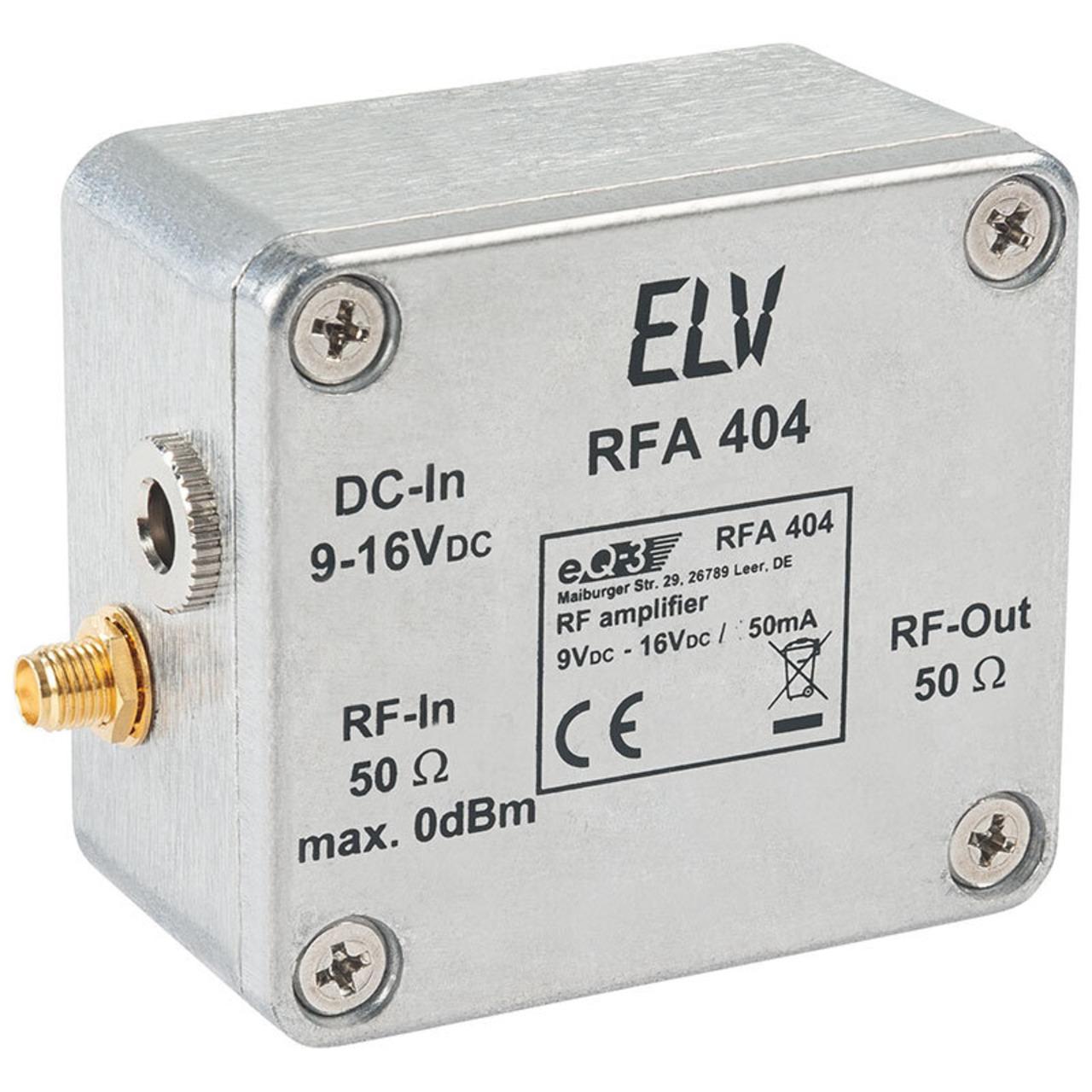 ELV Bausatz HF-Verstärker RFA404