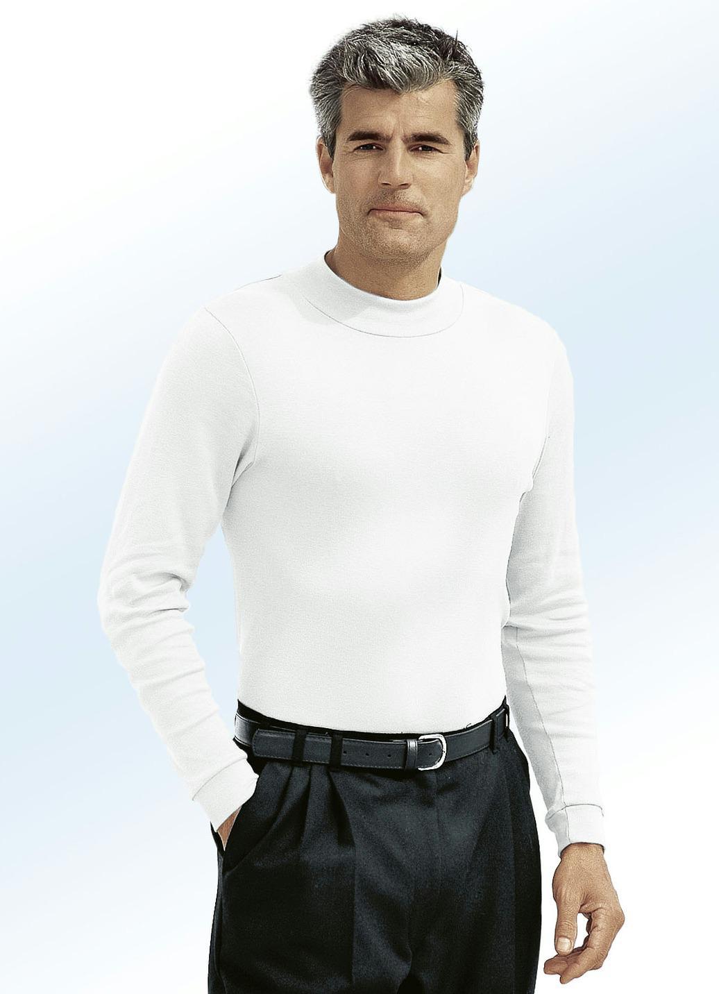 Tragangenehmes Shirt in 9 Farben, Ecru, Größe 46