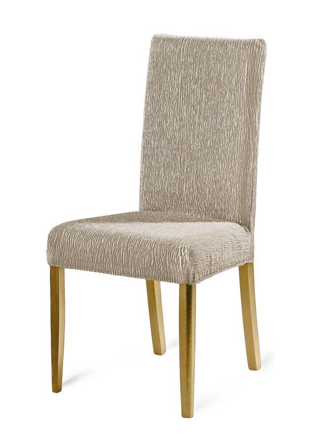 Stuhlbezüge in verschiedenen Farben, Größe 106 (Stuhlbezug), Taupe