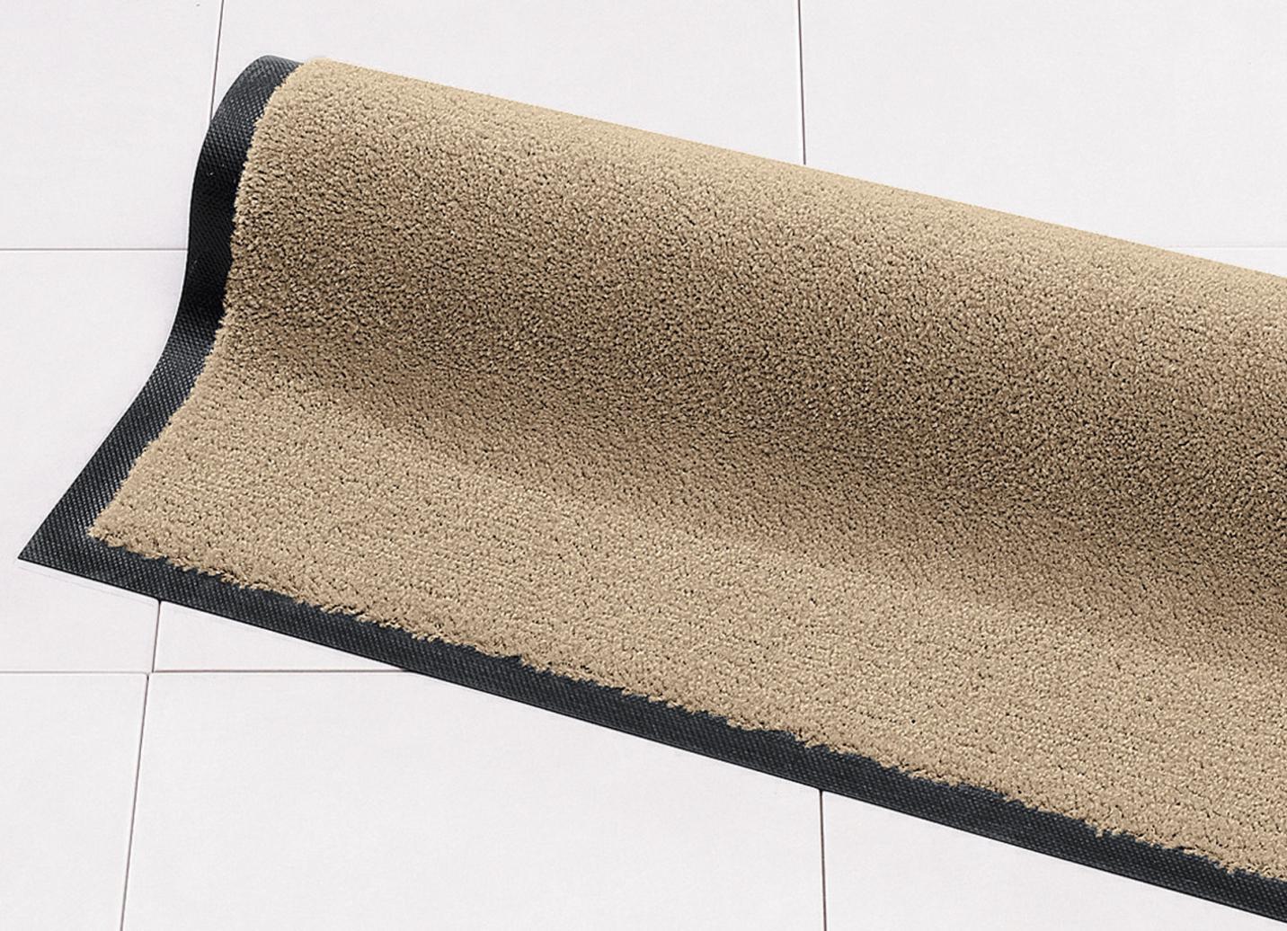 Schmutzfangmatten für innen und außen, Größe 101 (Matte, 40x 60 cm), Beige