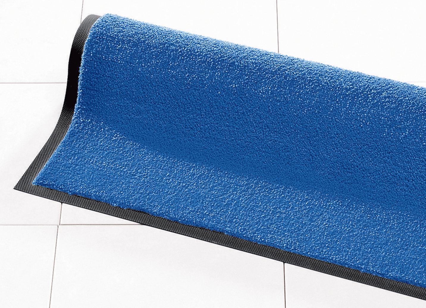 Schmutzfangmatten für innen und außen, Größe 101 (Matte, 40x 60 cm), Blau