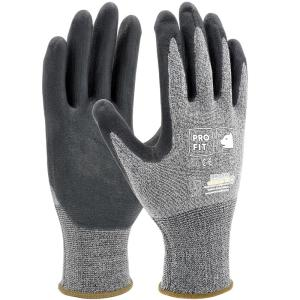 Fitzner HIT Nitrilschaum Feinstrickhandschuh, Flexibler Handschuh mit bestem Griff, 1 Packung = 12 Paar, Größe: 8