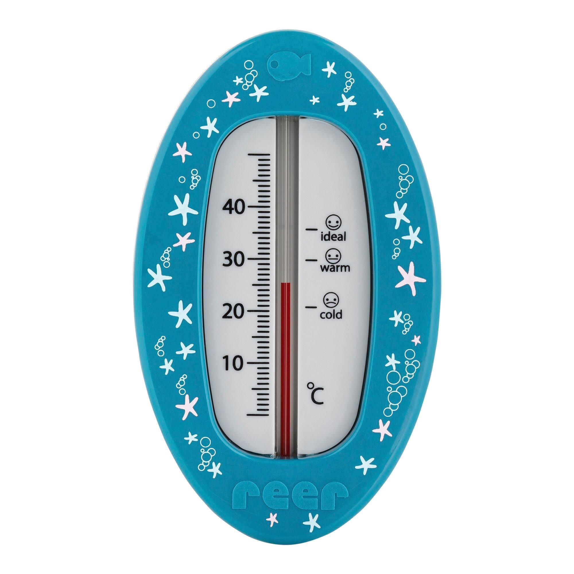 Badethermometer oval
